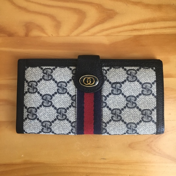 a5b027c641ae Gucci Bags | Vintage Checkbook Cover Wallet | Poshmark